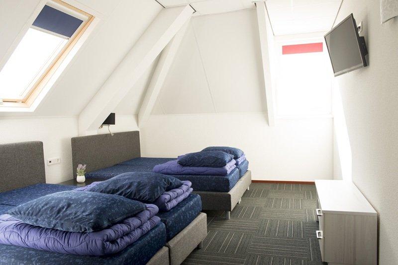 Groepsaccommodatie 50 personen - slaapkamer