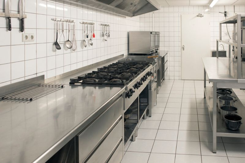 Groepsaccommodatie 50 personen - professionele keuken